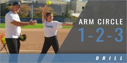 Pitching: Arm Circle 1-2-3 Drill