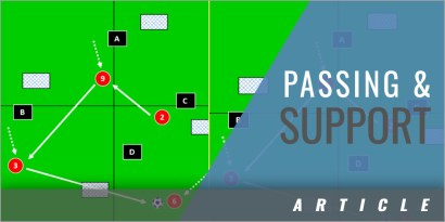 Passing and Support Possession Game