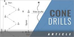 Practicing Indoors: Cone Drills