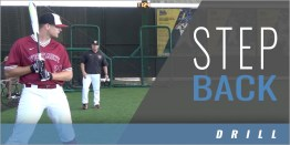 Hitting: Starting the Swing, Step Back Drill