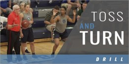 Rebounding: Toss and Turn Drill