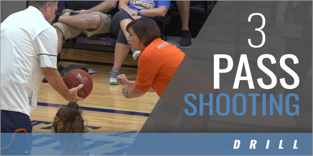 3 Pass Shooting Drill