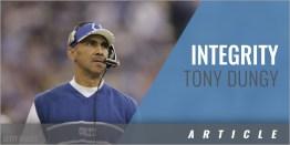 Integrity - Tony Dungy