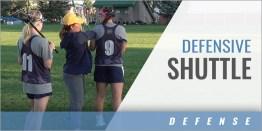 Defensive Shuttle Drill