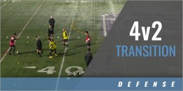 Defense: 4v2 Transition