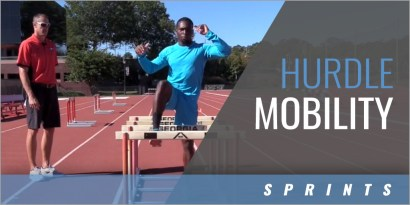 Sprints: Hurdle Mobility Warmup