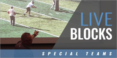 Special Teams - Punt Block Drills