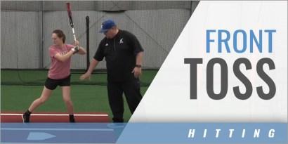 Hitting: Front Toss Drills