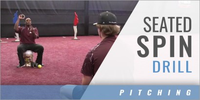 Pitching: Seated Spin Drill