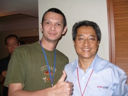 Radin Ikram, Action Coach, Malaysia - 2008