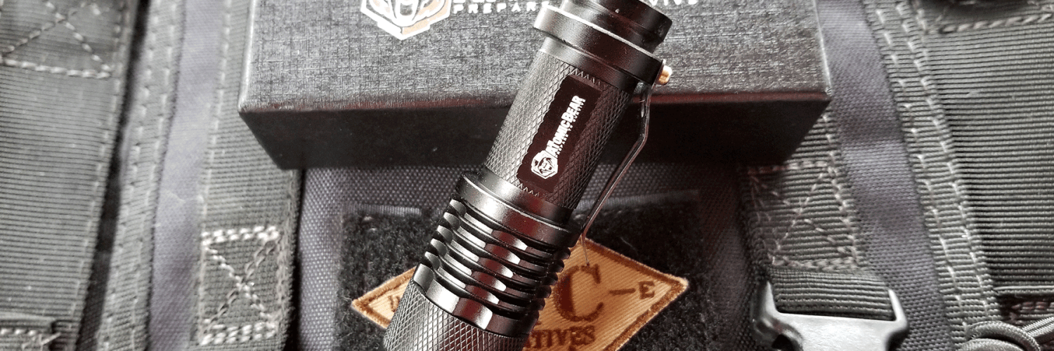 Review Of The Tactical Flashlight By The Atomic Bear