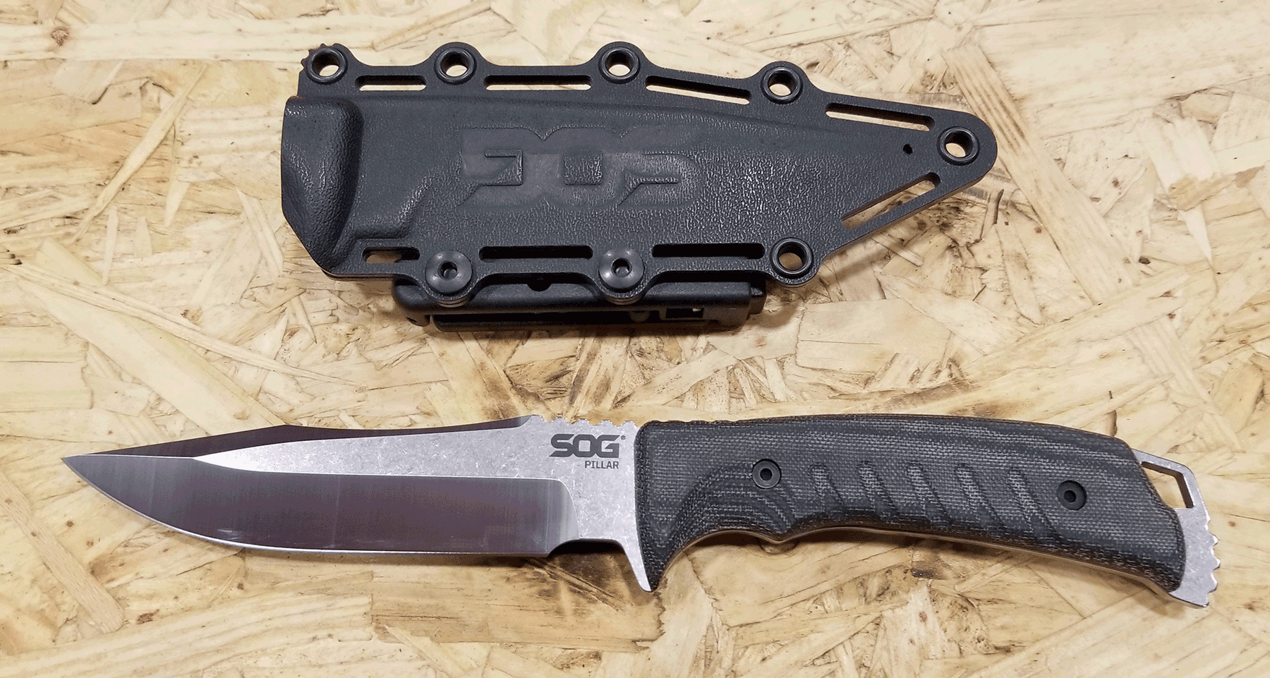 Review Of The SOG Pillar (Fixed Blade) Knife