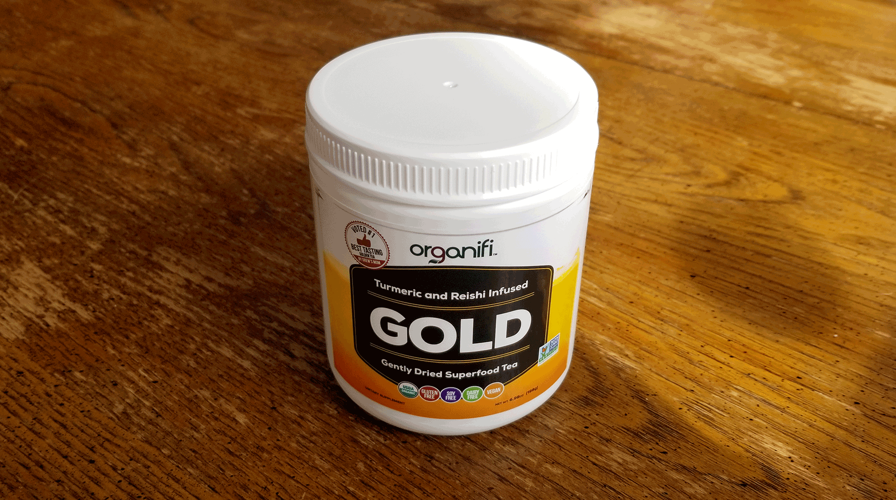Organifi GOLD Superfood Tea Review