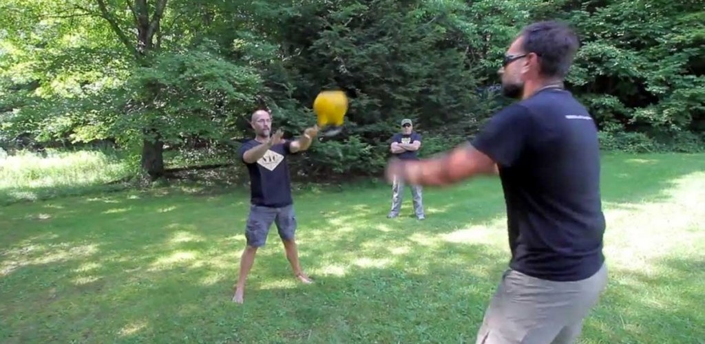 Kettlebell Juggling with a Partner