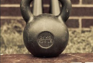 kettlebells and kettle balls