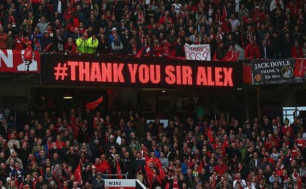 Thank you Sir Alex