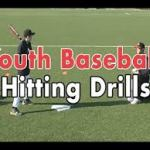 Baseball Hitting drills | Youth Baseball Batting Drills