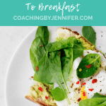 "Avocado Toast with Title that says ""10 Creative Ways to Add Veggies to Breakfast"""