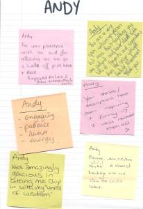 Appreciative Inquiry course feedback
