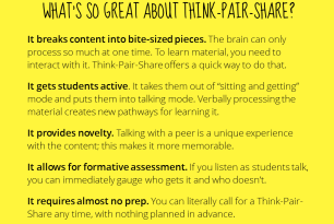How To Improve Your Training With Think Pair Share