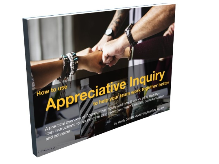 How to use Appreciative Inquiry cover