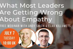 Free Webinar 7 July 2020: What Most Leaders Are Getting Wrong About Empathy