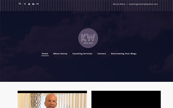 Website review for Kenny