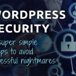 wordpress security 5 steps