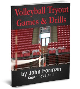 Volleyball Tryout Games & Drills