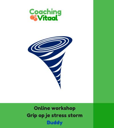 Online workshop Grip op je stress buddy