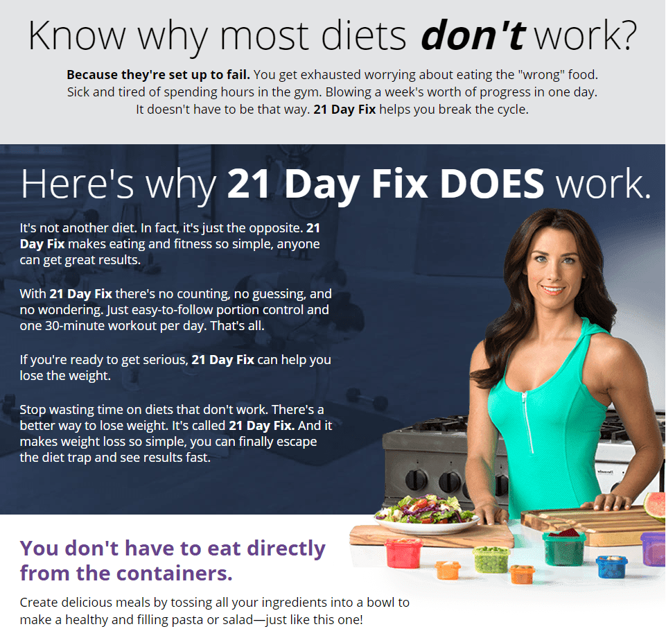 21 Day Fix Kevin Rack Fitness And Nutrition