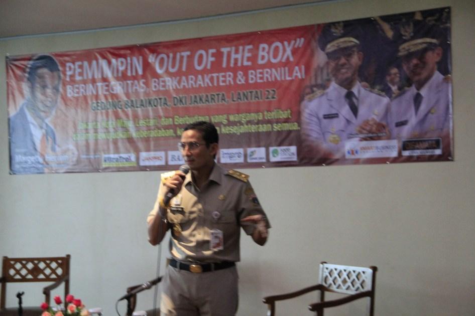 Pak Wagub Sandiaga Uno - Out of The Box Training