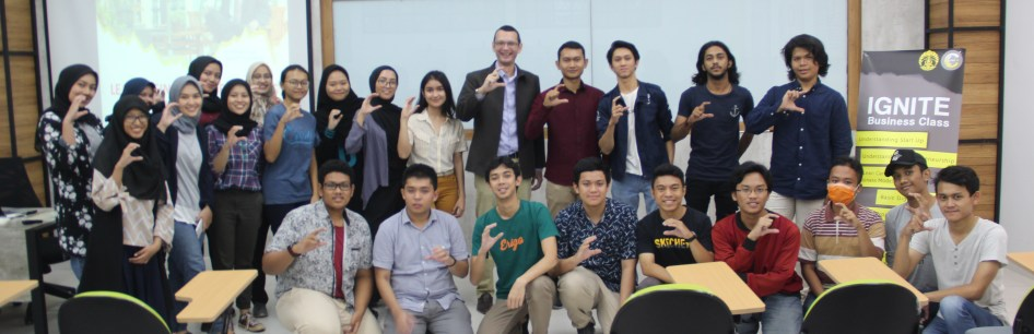 CEDS UI Mahaiswa Pengusaha Kampus Universitas Indonesia