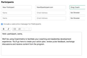 Adding Participants