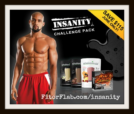Insanity Challenge Pack Sale