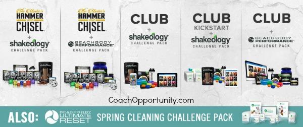 April Challenge Packs
