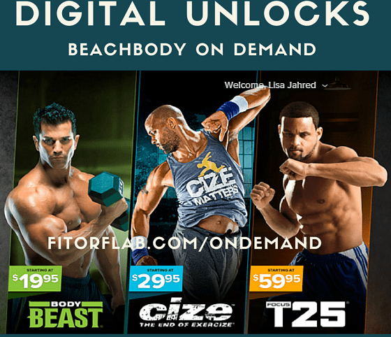 Streaming workout videos for less with digital unlocks
