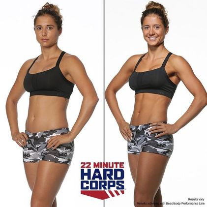 Get results with 22 Minute Hard Corps workout