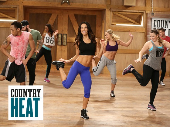 August 2016 Challenge Packs Promo - Country Heat workout