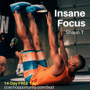 New Shaun T workout: Insane Focus