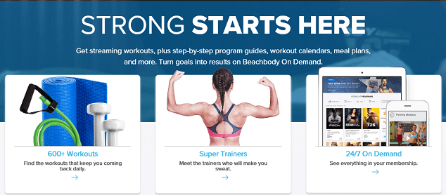 Join Beachbody on Demand UK