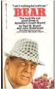 bear bryant football coach