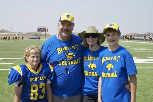 The Parker Family @ KYA Football Game