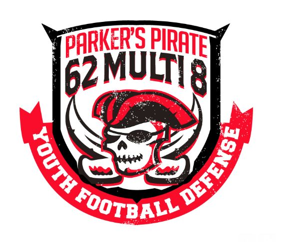 Pirate 62 Multi Youth Football Defense by Coach Parker