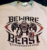 Beware of Beast T-Shirt for sale