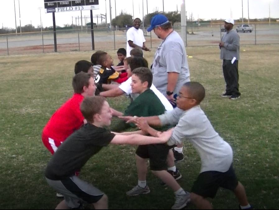 best youth football drills