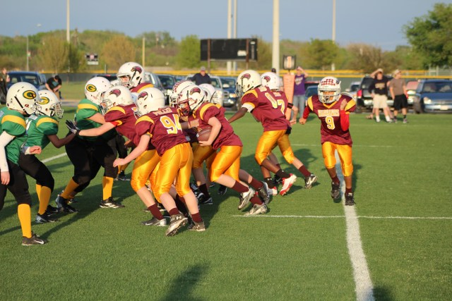 youth football offense