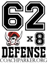 62x8 Defense Youth Football