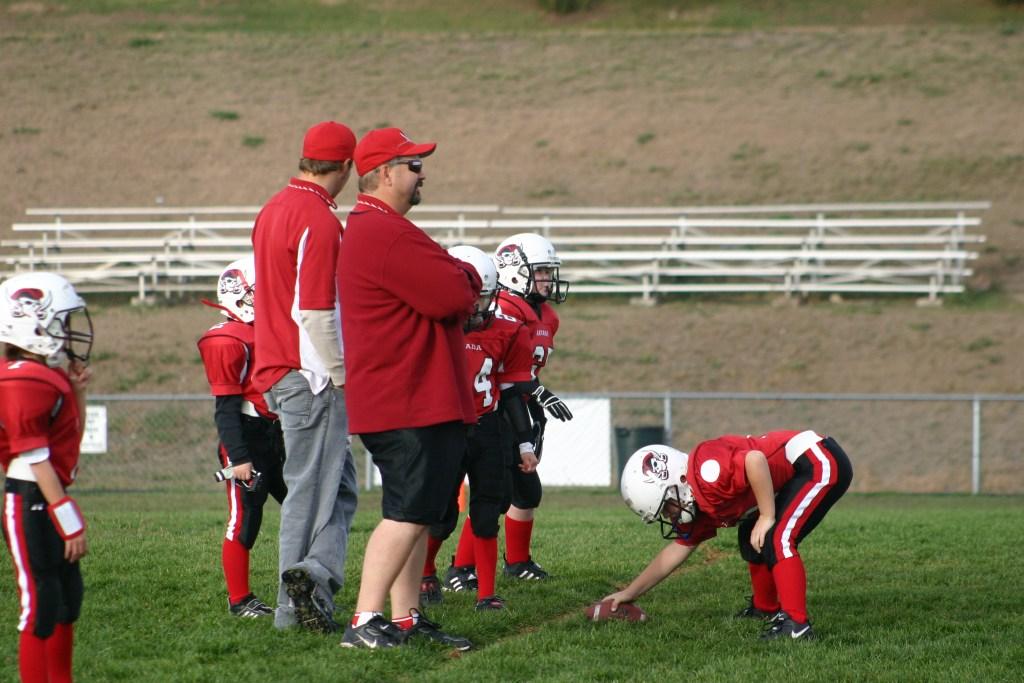 coaching youth football basics and tips