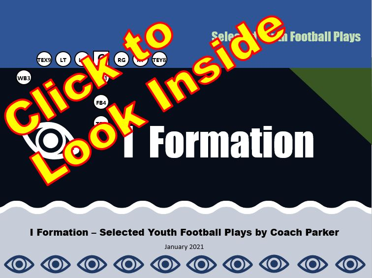 i formation youth football plays click to look inside